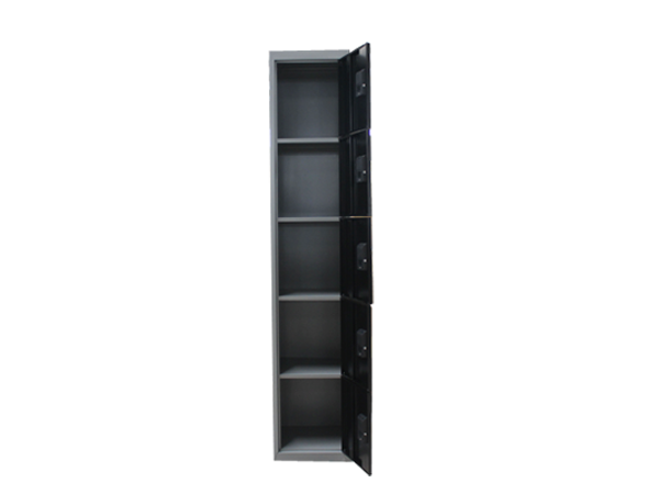 5 tier door steel locker